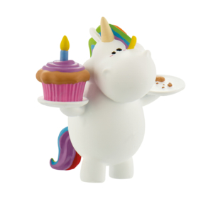 Chubby Unicorn Bath Duck Chubby Unicorn 9 cm Bullyland Mini figures